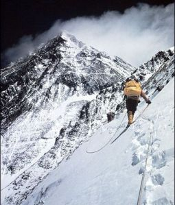 climbing everest mount-photo